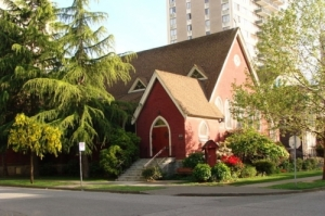 St. Paul's Anglican Church. Photo by Iota 9 Source: Wikimedia Commons.